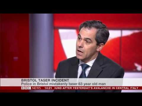 Bristol UK Police Taser in the Face a Black 63 year old, one of their own Race Relations Advisers