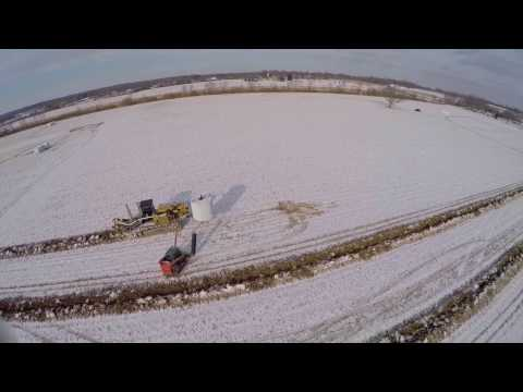 Field Drainage Tile Installation in Ohio - Cy Schweiterman Inc
