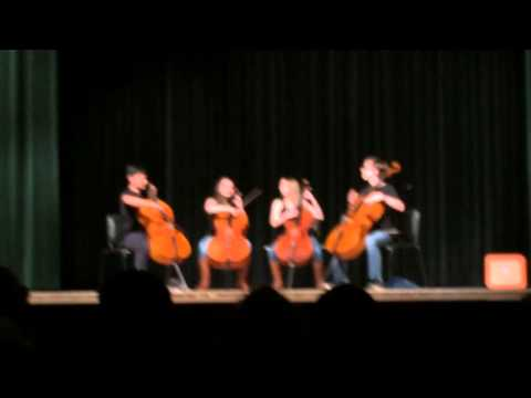 Rockelbel's Canon in D by the 4 Cellos