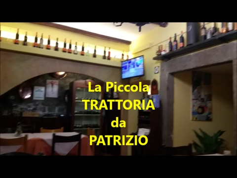 La Piccola Trattoria Da Patrizio ||  VITERBO || Recensione Marco Pesci