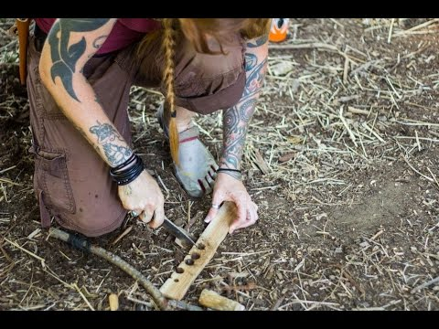 Primitive fire making skills