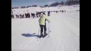 Skiing Training @ The Khyber, Gulmarg