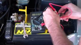 Verificando a corrente de fuga do carro com o multímetro