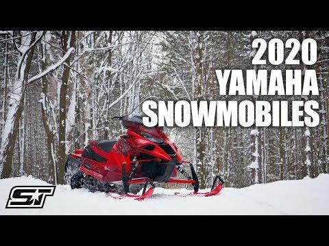 2020 Yamaha Snowmobile Lineup