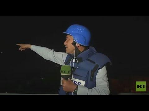 مراسل RT يرصد لحظة إطلاق دفعات من الصواريخ صوب إسرائيل على الهواء مباشرة  - نشر قبل 3 ساعة