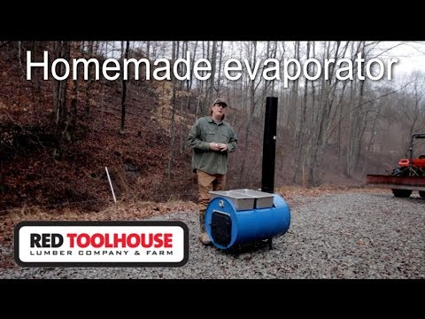 Ep79:Building a maple sap evaporator from a 55 gallon drum