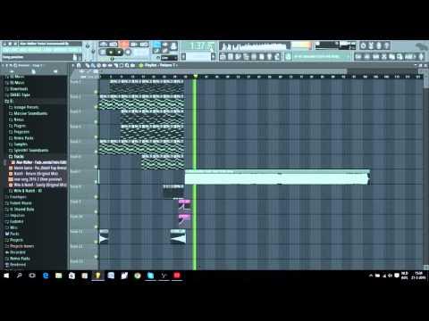 FL Studio 12 Alan Walker - Fade (NateX Instrumental Edit)