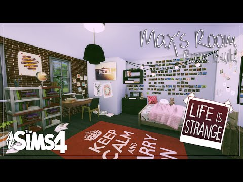 The Sims 4 Room Build Life Is Strange Max Caulfield39s
