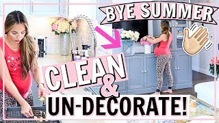 DECLUTTER FOR FALL HOME DECOR! FALL 2019 CLEAN WITH ME! | Alexandra Beuter
