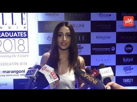 Yami Gautam Malavika Mohanan Sonal Chauhan And Others At The Elle Graduate Evening 2018 | YOYO Times