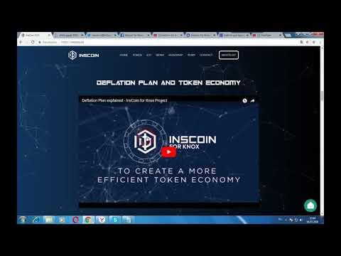 INSCOIN - создание первой страховой компании на блокчейн