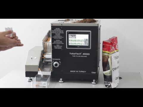 Tobatech 4000 Mini Filtre Dolum Makinesi...