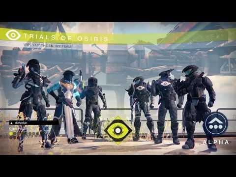 Trials of Osiris Live Exodus Blue   Year 3 Flawless X3