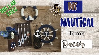 Dollar Tree DIY Nautical Home Decor