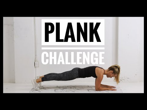 Take The PLANK CHALLENGE// 8 Plank Variations