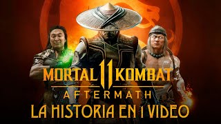 Mortal Kombat Aftermath : La Historia en 1 Video