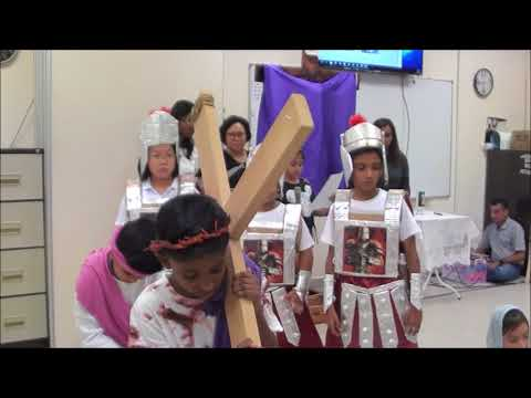 Good Friday Service For Children Passion Play In CDM Penang