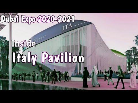 Italy Pavilion at Dubai Expo 2020-2021