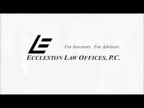 Eccleston Law: Welcome to our Chicago Securities Law Firm