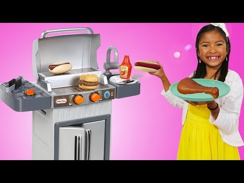 Wendy Pretend Cooking with BBQ Grill Toy