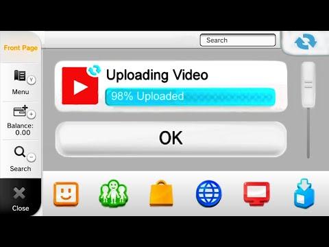 YouTube In Nintendo Wii U