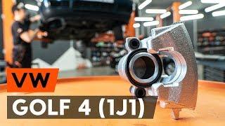 Hoe Achteraslager vervangen VW GOLF IV (1J1) - video gratis online