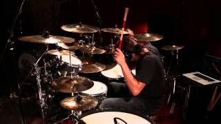 Improv ProMark Hot Rods Drum Solo in under 90 seconds: Blues and Funk