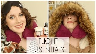 REDEYE FLIGHT ESSENTIALS // TIPS & OUTFIT