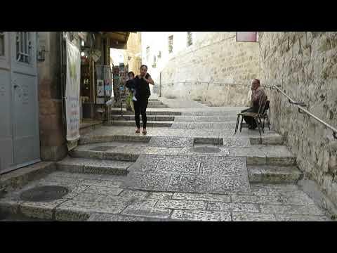 The Christian Quarter Of Jerusalem's Old City - Walking Tour With Steve Martin - Video
