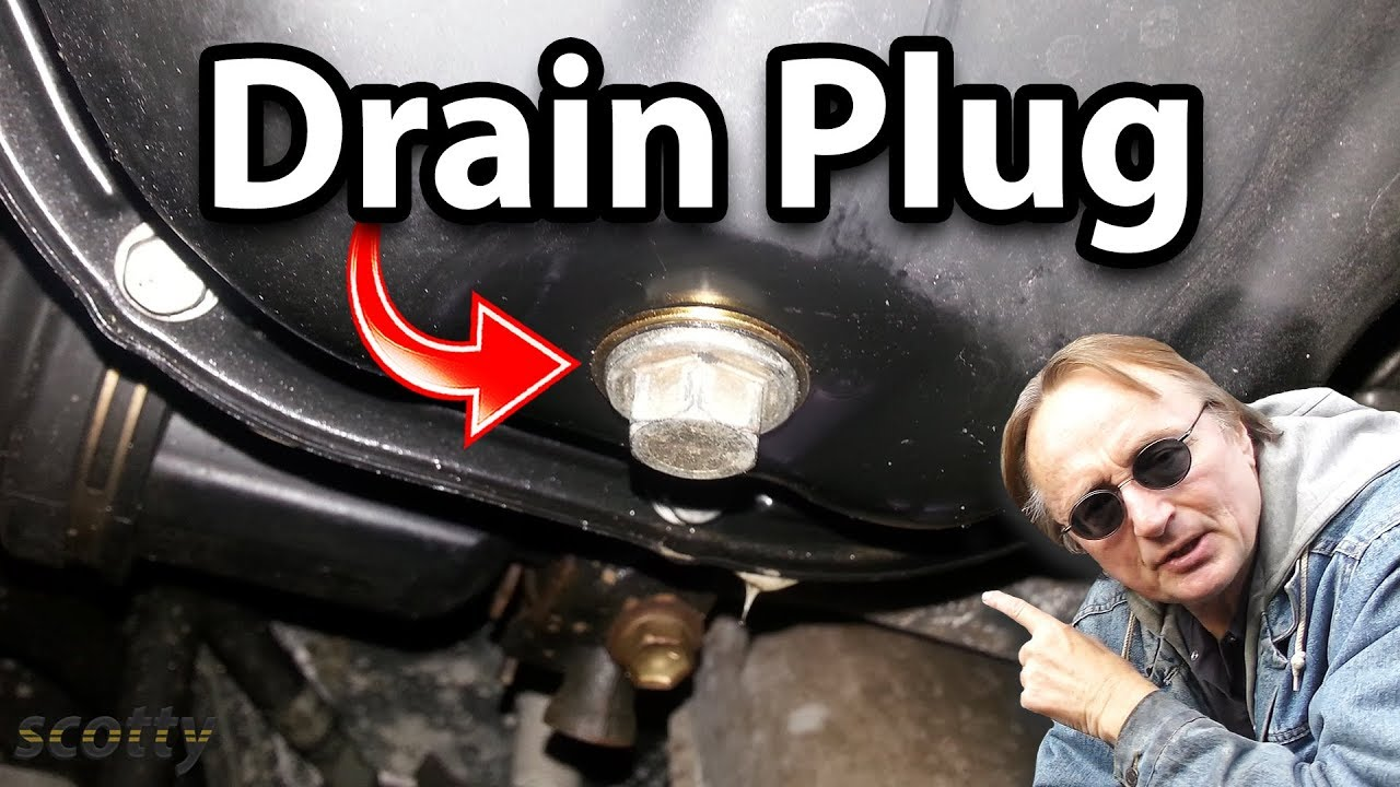 cadillac catera 3 0 engine diagram fixing a leaking oil pan drain plug youtube mazda 6 3 0 engine diagram