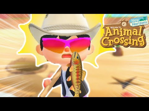 Catching The Rarest Fish Will Give You Nightmares In Animal Crossing New Horizons