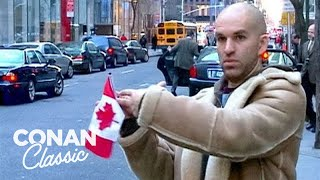 "Andy Blitz Takes A Taxi To Toronto - ""Late Night With Conan O'Brien"""