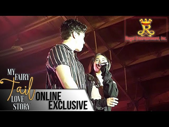 My Fairy Tail Love Story Exclusive: Janella Salvador and Elmo Magalona sing Be My Fairytale