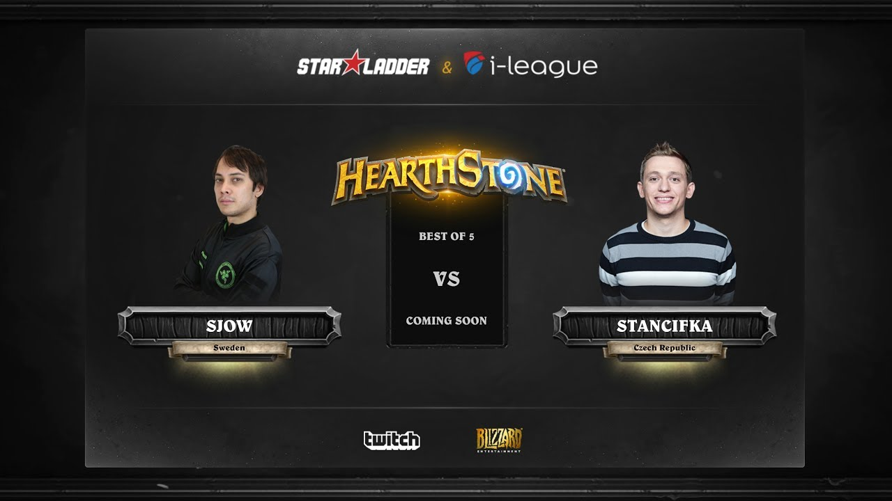 [RU] SjoW vs StanCifka | SL i-League Hearthstone StarSeries Season 3 (25.05.2017)