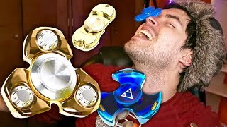 THE MOST EXPENSIVE FIDGET SPINNERS!!