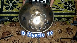 D Mystic 10 / Atom Handpan improvisation