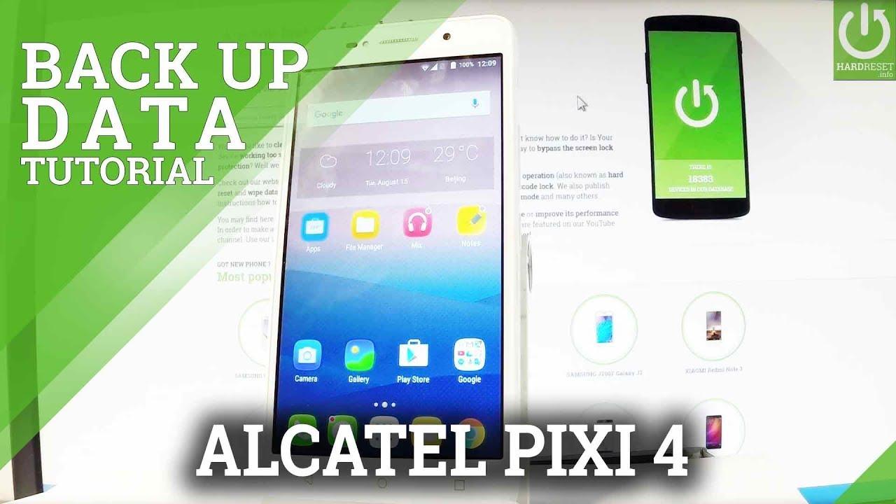 Alcatel Pixi 4 (7) Backup Videos - Waoweo