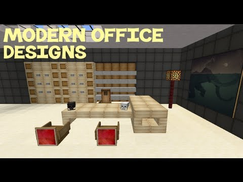 Minecraft Modern Office Designs