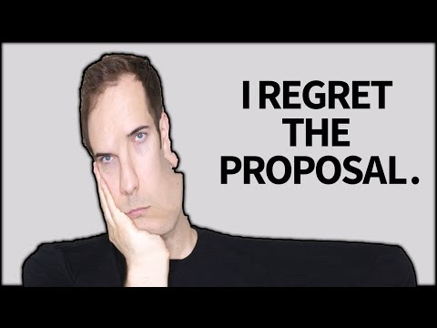 I regret the proposal. (JackAsk #84)
