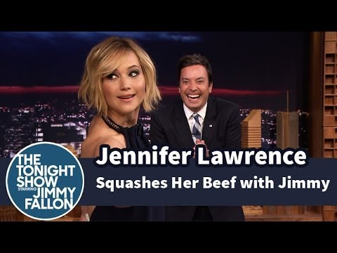 Jennifer Lawrence Squashes Her Beef with...