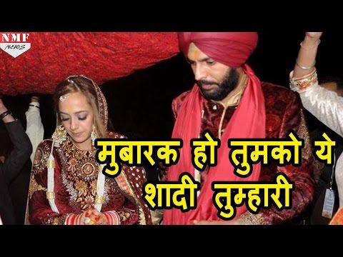 जब Twitter पर Harbhajan Singh ने किया Yuvraj-Hazel को specially wish