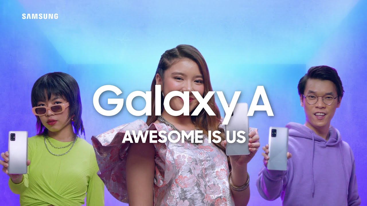 Samsung Indonesia: Galaxy A51 | A71 - Semua Bisa Jadi Awesome #AWESOMEisUs