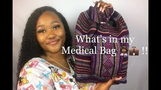 Medical Assistant: Whats in My Medical Bag ! #MedLifeJourney