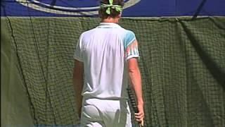 ATP 1990 Australian Open R4 McEnroe vs Pernfors ENG