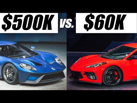 """New Mid Engine Corvette >> 2020 C8 Corvette Vs. Its """"Competition"""" Ouch... - YouTube"""