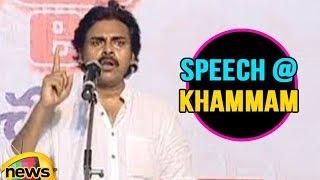 Janasena Chief Pawan Kalyan Speech From Khammam, Telangana   Part-1   Mango News