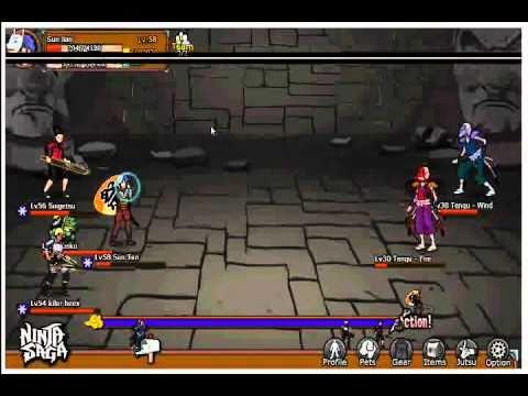 Ninja Saga : Hunting House -Tengu -