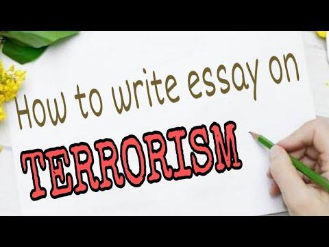 Видео A short essay on terrorism
