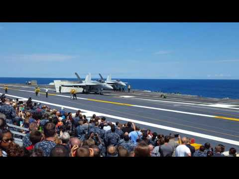 USS Harry S Truman Friends And Family Day Cruise 2016