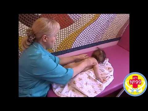 Массаж для детей от 3 до 6 месяцев